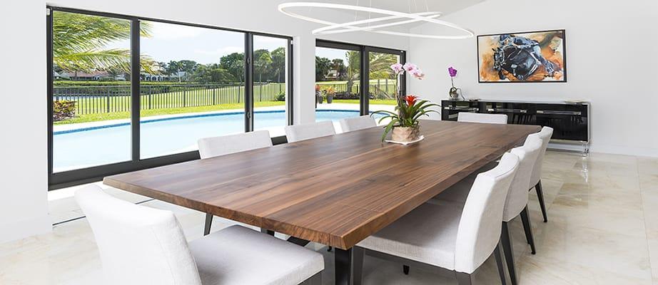 Modern Contemporary Dining Room, Modern Dining Room Sets